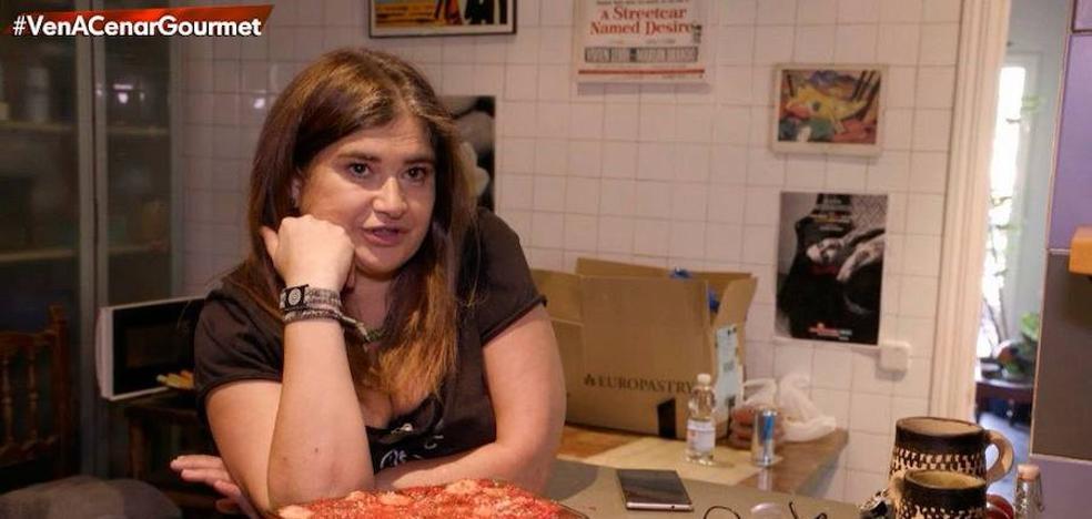 La sorprendente suciedad de la cocina de Lucía Etxebarría