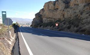 Trabajos de desmonte cerrarán al tráfico la carretera entre la capital y Huércal de Almería