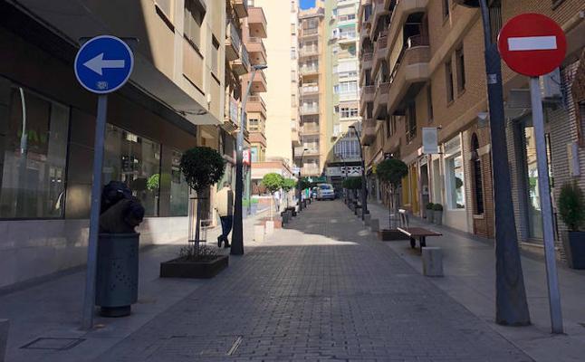 Almería peatonalizará parte de su calle Marqués de Comillas