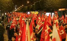 Los pensionistas de Almería se movilizan contra la subida del 0,25