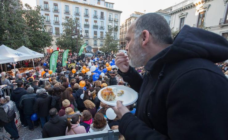 Encuéntrate en la 'piononada' vivida en Granada