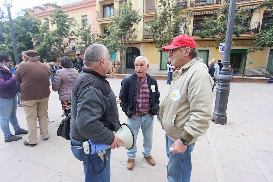 Concentración por las pensiones en Motril