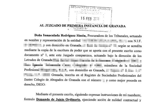 Un granadino lleva cinco años esperando una sentencia
