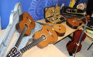 Recuperan instrumentos por 15.000 euros robados en un instituto de Padre Méndez