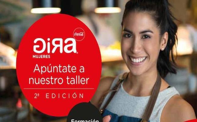 Mujer, emprendedora y de Almería... Coca-Cola te ayuda