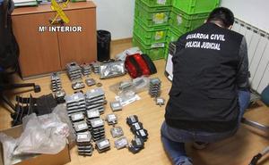 Seis detenidos en Martos por robar componentes eléctricos