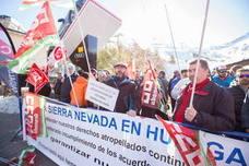 La Junta emite un informe para desconvocar el segundo sábado de huelga en Sierra Nevada
