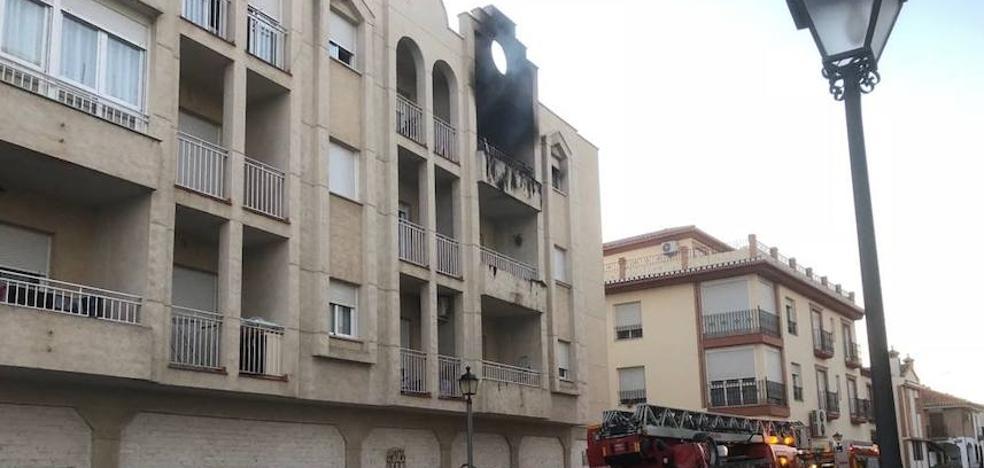 Fallece un bebé en un incendio en Albolote