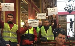 """Bomberos y Policía Local de Granada se movilizarán para que se deje """"de exprimir a las plantillas"""""""