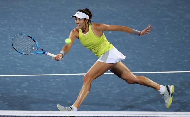 Muguruza cae en semifinales ante la rusa Daria Kasátkina