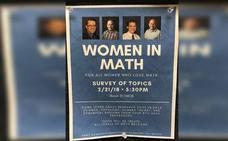 """Polémica por una charla sobre """"mujeres matemáticas"""" sin mujeres"""