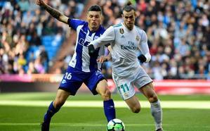 Grito de furia del tridente en el Bernabéu