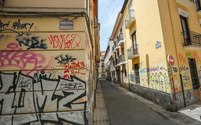 La Policía Local 'sólo' cazó 17 grafitis durante el pasado año