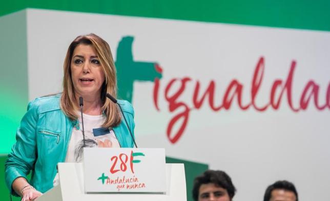 """Susana Díaz: """"El referéndum hizo que la Constitución se leyese en andaluz"""""""