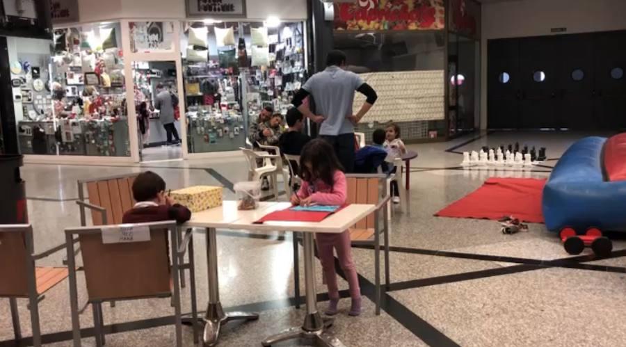 Actividades para niños en el Centro Comercial Neptuno