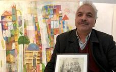 La dura historia del pintor que huyó del Daesh