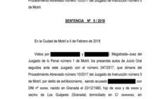 Absuelto un hombre acusado de exhibicionismo por orinar junto a una casa donde vive una niña