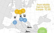 Israel busca 'ganarse' a los mercados de la UE con un plan logístico por ferrocarril