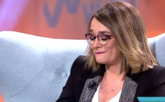 Toñi Moreno de derrumba en directo: el motivo de sus lágrimas