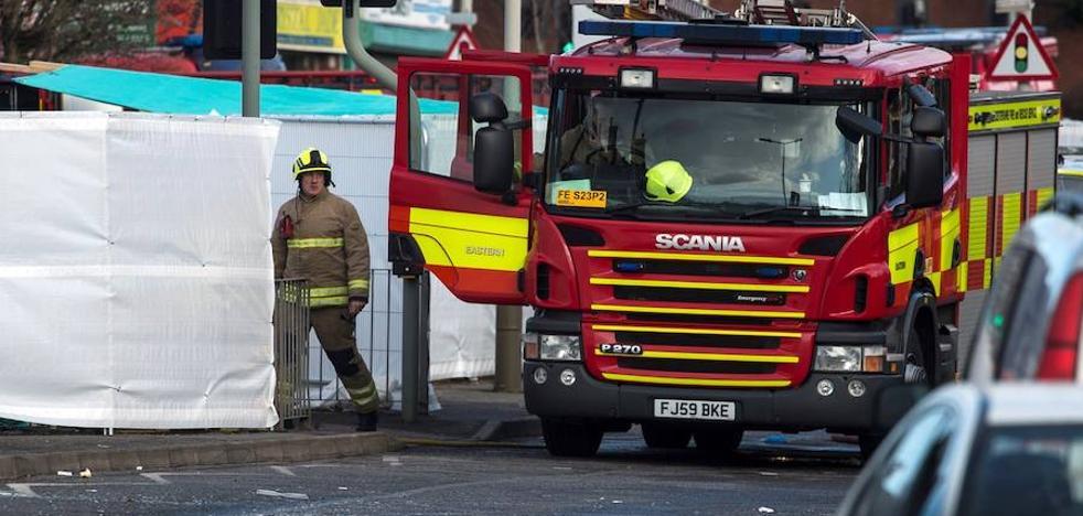 Tres detenidos por la explosión de Leicester que causó cinco fallecidos