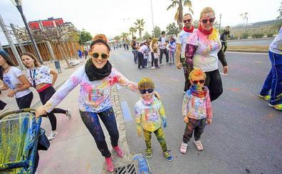 La Colour Run llena el Día del Deporte en Motril