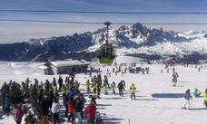 Fallece un monitor de esquí de 24 años sepultado por un alud en Formigal