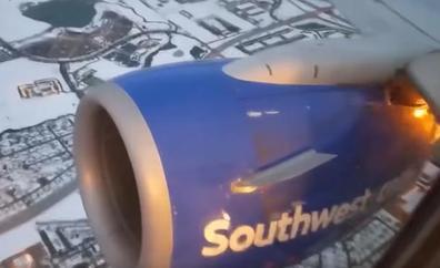 La aterradora explosión del motor de un Boeing 737 en pleno vuelo