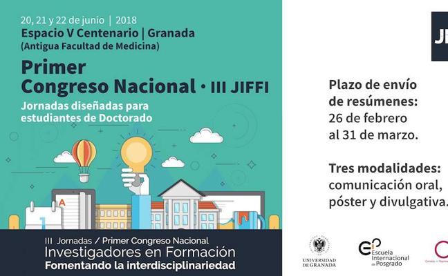 Abierto el plazo para participar en las III Jornadas de Investigadores en Formación: Fomentando la Interdisciplinariedad (JIFFI)