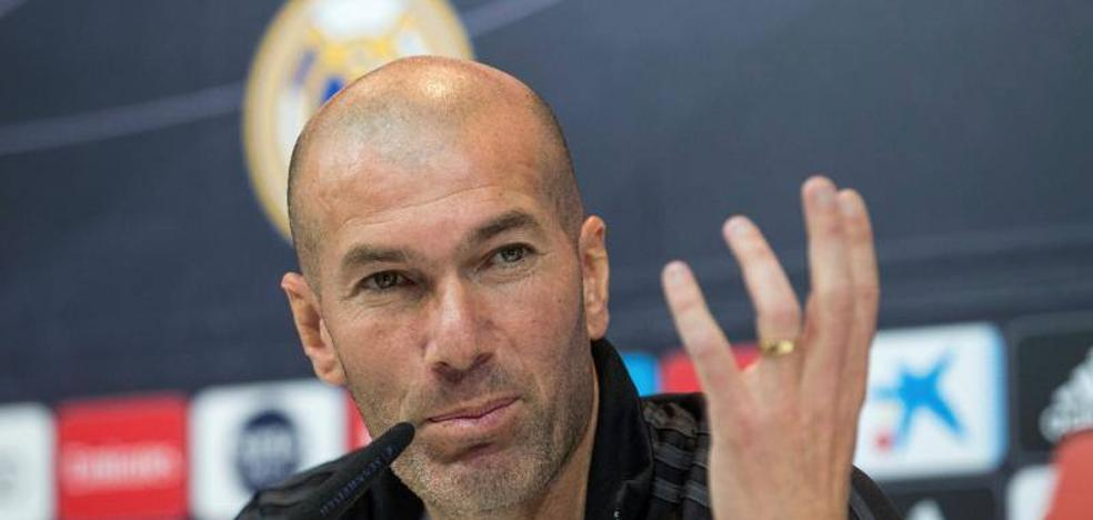 Zidane: «La Liga está muy difícil, pero no imposible»