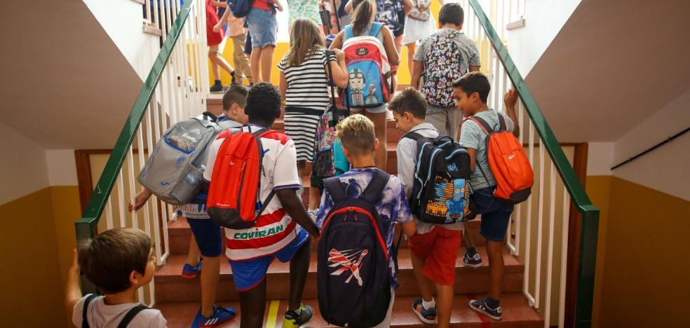 Educación prevé la incorporación el curso próximo de 5.425 niños nacidos en 2015