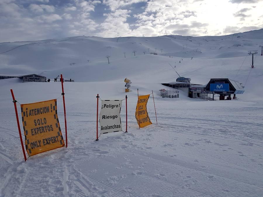 Tremenda nevada en la Sierra