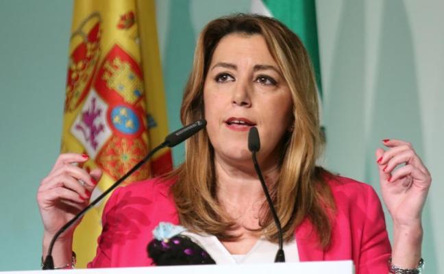 """Díaz anima a la participación """"masiva"""" de la huelga del 8M y Moreno califica de """"justo"""" su objetivo"""