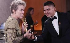"""La reivindicación de Frances McDormand tras ganar el Óscar: """"Llamadnos para ofrecernos trabajo"""""""