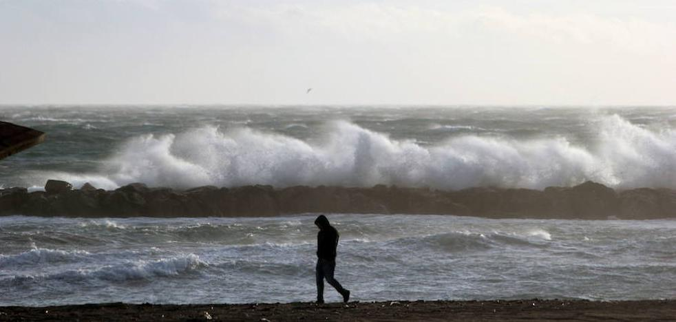 Alerta naranja por vientos litorales en Almería desde las 18 horas