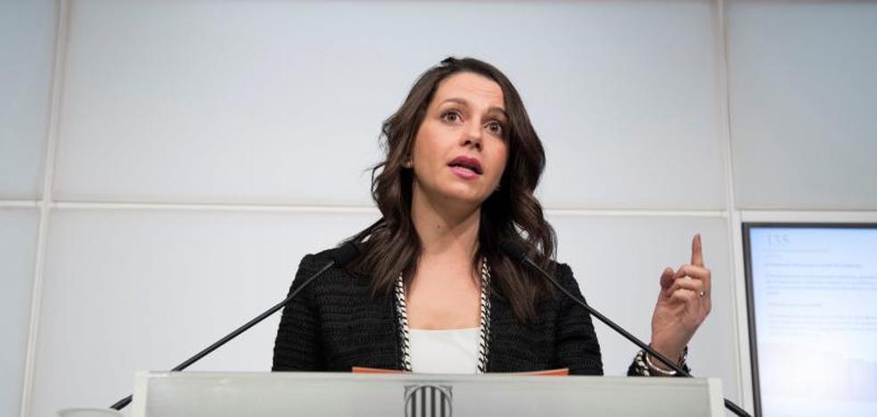 Arrimadas cree que el independentismo busca el fracaso de la candidatura de Jordi Sànchez