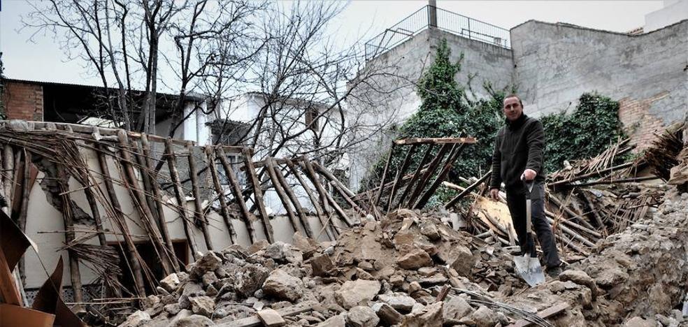 El temporal amaina pero deja más de una decena de incidencias en Granada