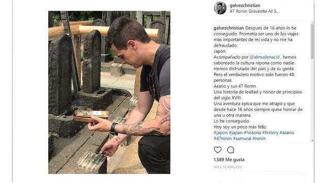 Los artísticos tatuajes de Christian Gálvez