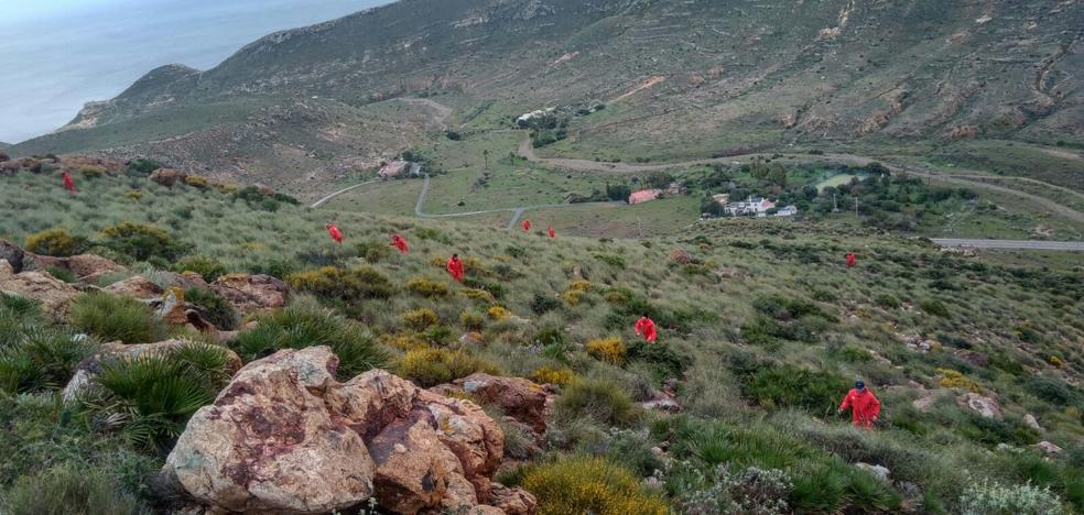 Bomberos de Granada participan en la búsqueda de Gabriel en Almería
