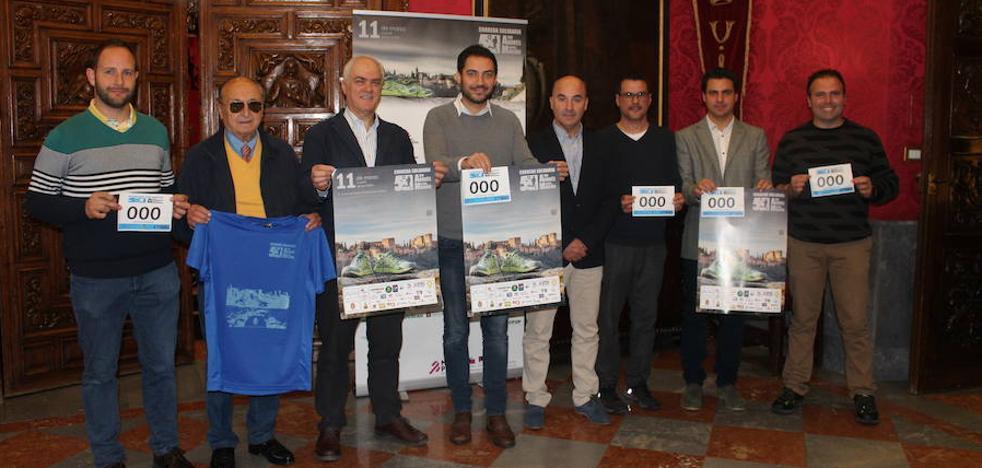 Los 1.200 inscritos de la Carrera Andrés Manjón, pendientes de la lluvia