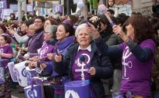 Así es la primera huelga de mujeres en España