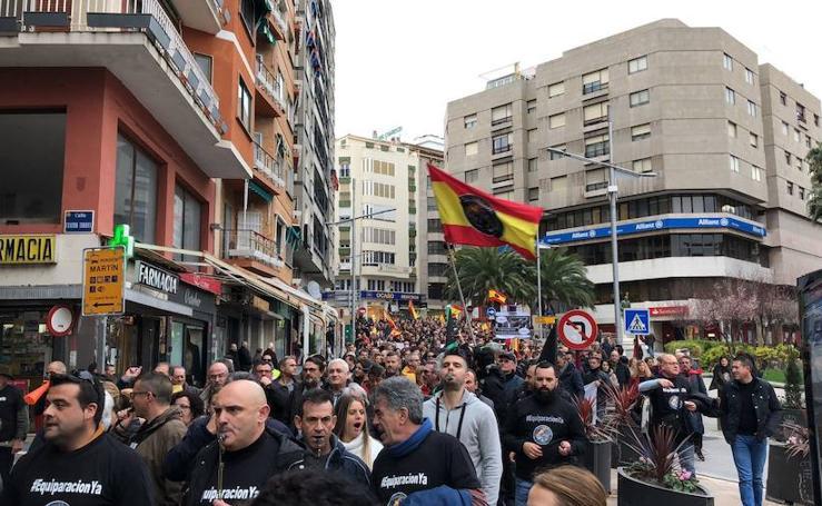 Jaén marcha por la equiparación salarial de Policía y Guardia Civil con los Mossos