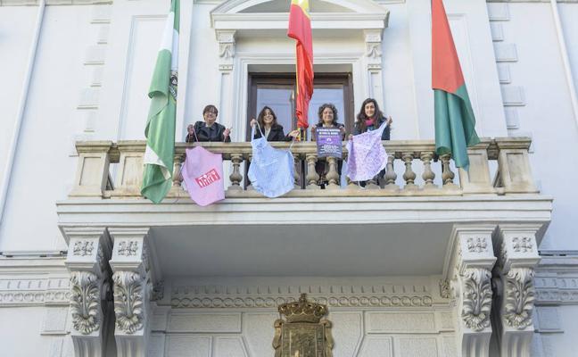 La agenda institucional de Granada se bloquea con la huelga del 8M