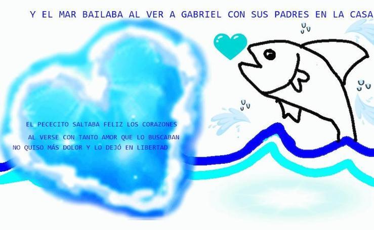 Los pescaditos en apoyo a Gabriel que llenan Twitter
