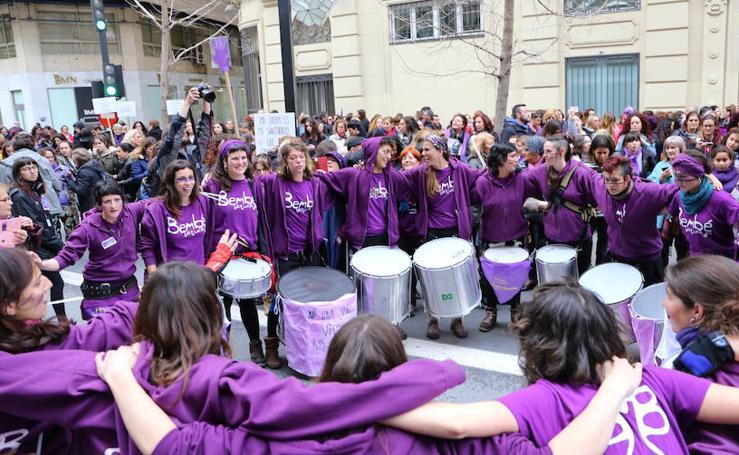 Encuéntrate en la manifestación feminista del 8M en Granada