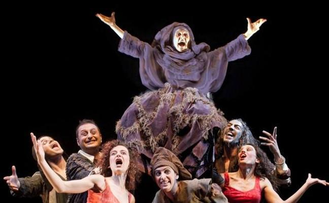 Mitos españoles en el teatro de hoy