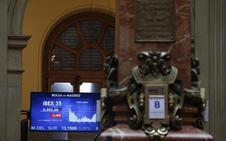 El Ibex 35 avanza un 0,49% y amarra los 9.600 puntos tras el discurso de Mario Draghi