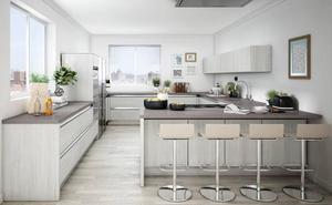 Cuatro claves para crear la cocina con la que siempre soñaste