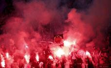La UEFA expedienta al PSG por las bengalas ante el Real Madrid
