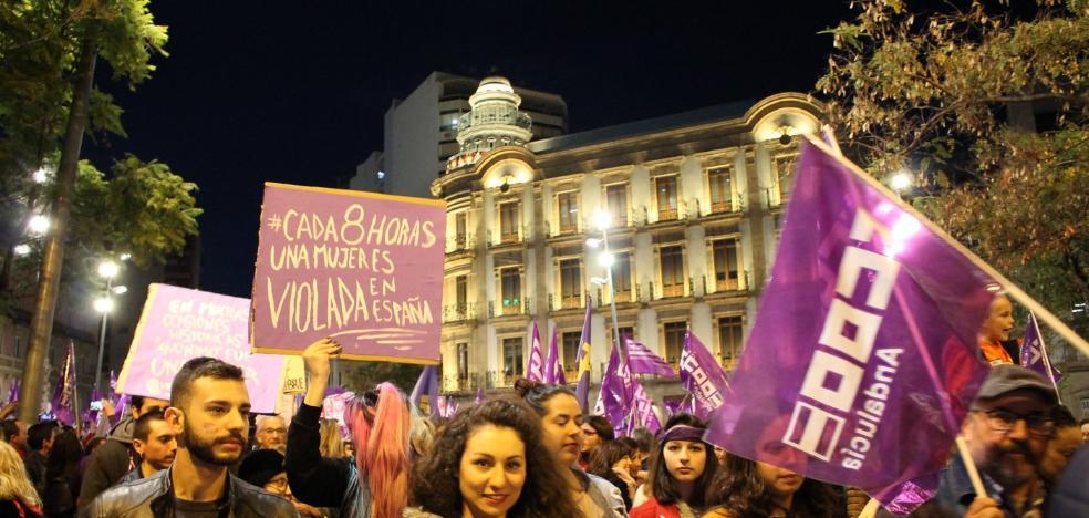Las mujeres de Almería hacen historia en el 8-M