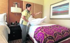Limpiar por 2 euros una habitación que vale 100 cada noche: «Es exagerado...»